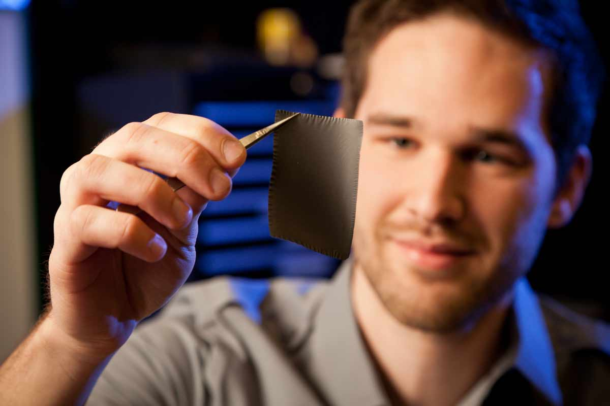 Innovative Fabric Energizes Future of Cell Phone Batteries and More
